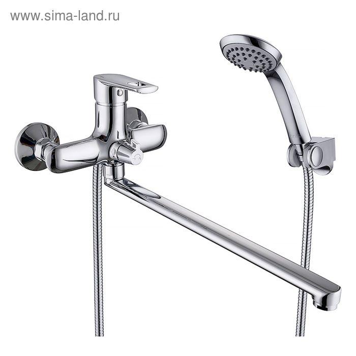 Смеситель для ванны IDDIS Runo, RUNSBL2i10, с длинным изливом