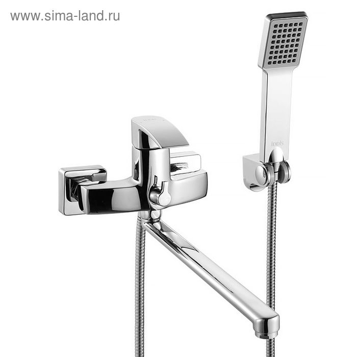 Смеситель для ванны с длинным изливом, Vane, IDDIS, VANSBL0i10