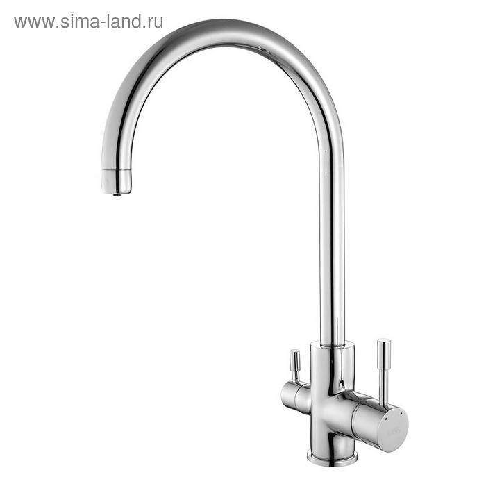 Смеситель для кухни IDDIS Kitchen F, KF20SBJi05, с каналом для фильтрованной воды, латунь