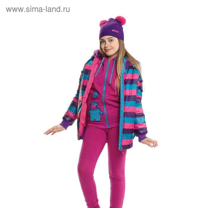 Куртка для девочек, 9 лет, цвет морская волна  GZWL4002/1