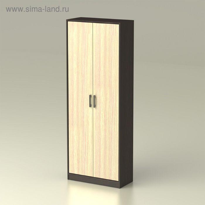 Шкаф   2  Модуль 719х343х2016    венге/дуб млечный