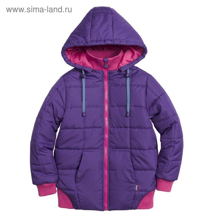 Куртка для девочек, 12 лет, цвет  лиловый GZWL5002