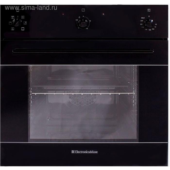 Духовой шкаф Electronicsdeluxe 6006.03 эшв- 003, черный глянец