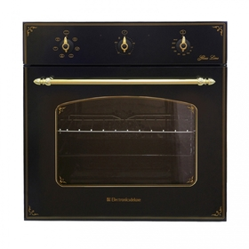 Духовой шкаф Electronicsdeluxe 6006.03 эшв- 008, черный матовый