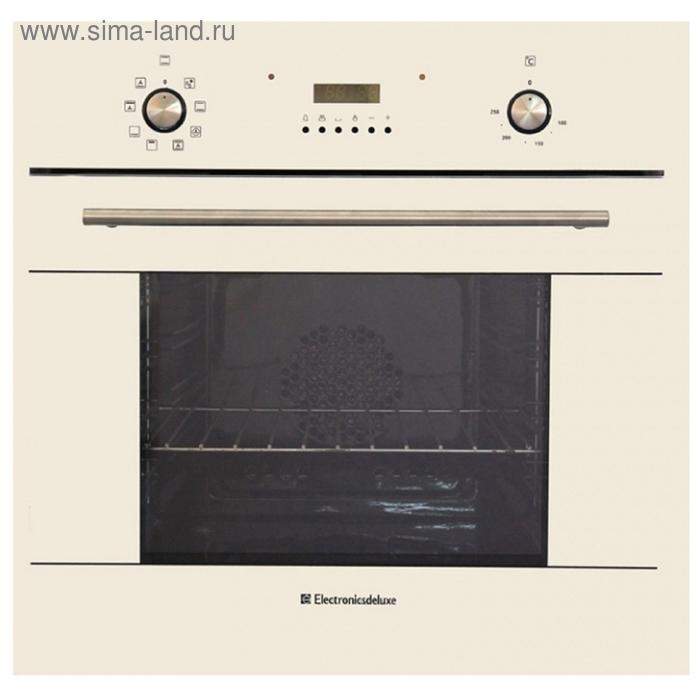 Духовой шкаф Electronicsdeluxe6009.02 эшв- 015, топленое молоко