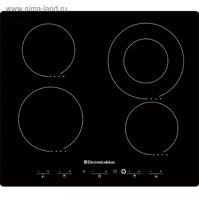 Варочная поверхность Electronicsdeluxe 595204-01 эвс, Hi-Light черная
