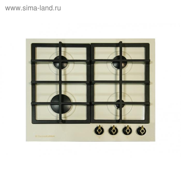 Варочная поверхность Electronicsdeluxe TG4 750231F-022 ЧР, топленое молоко