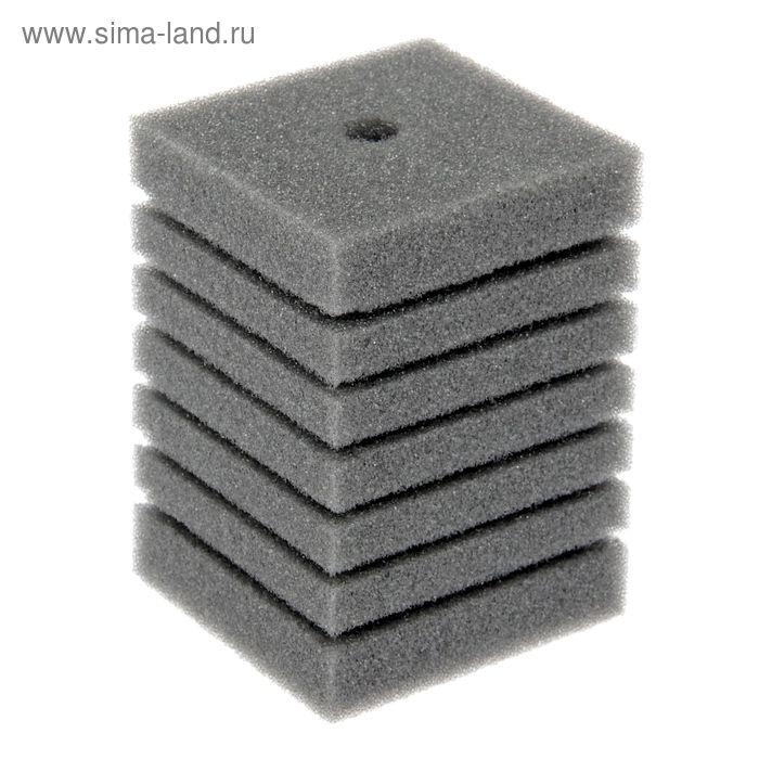 Губка прямоугольная запасная для фильтра турбо №11, 14х10х10 см