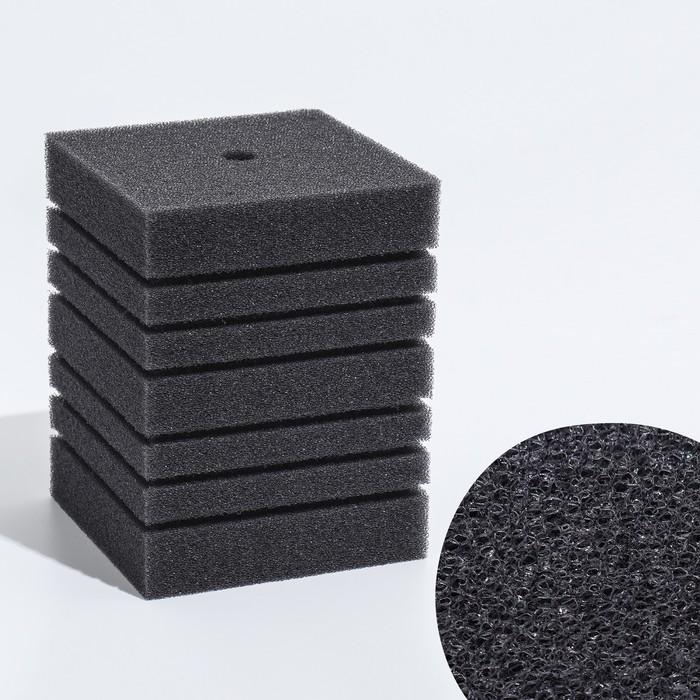 Губка прямоугольная запасная для фильтра турбо №14, 16х12х12 см