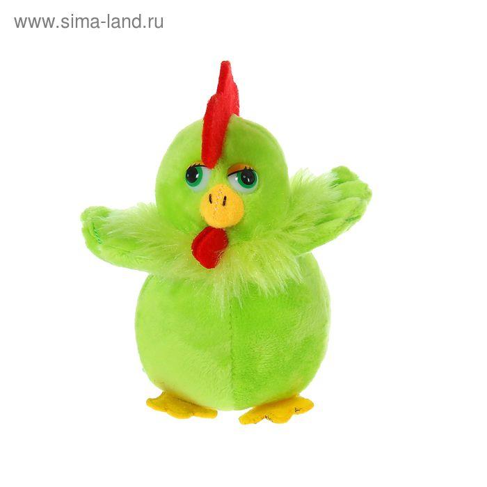 """Мягкая игрушка """"Цыпленок"""" пушистая шейка, цвета МИКС"""