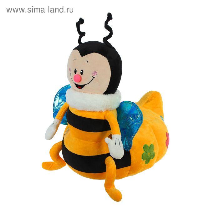 """Мягкая игрушка-кресло """"Пчёлка"""", цвет жёлтый"""
