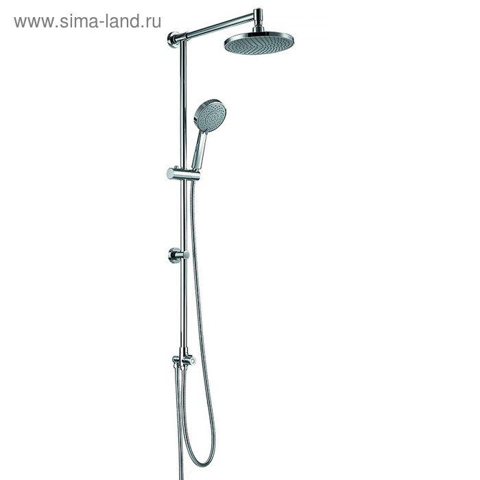 Душевой гарнитур с верхней лейкой IDDIS Renior shower, RENSS5FI76