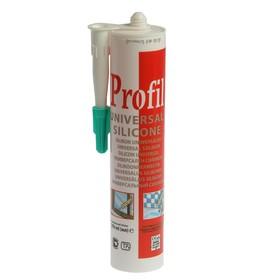 Герметик Soudal Profi, силиконовый, универсальный, бесцветный, 280 мл