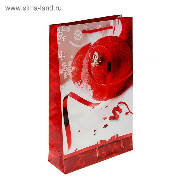 """Пакет подарочный """"Очарование праздника"""" 40.5 х 24.8 х 9 см"""