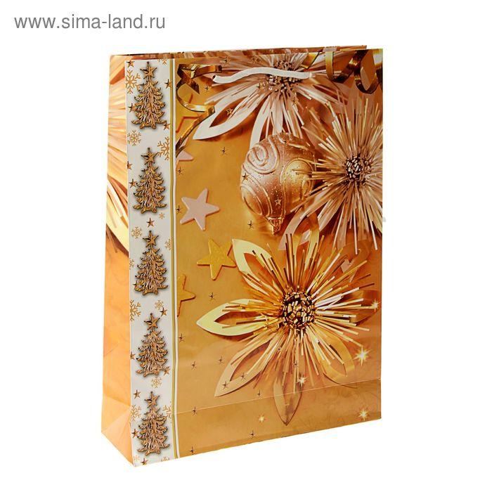 """Пакет подарочный """"Звездное очарование"""" 47 х 33 х 10 см"""