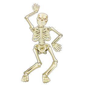 """Подвеска для украшения """"Танцующий скелет"""""""