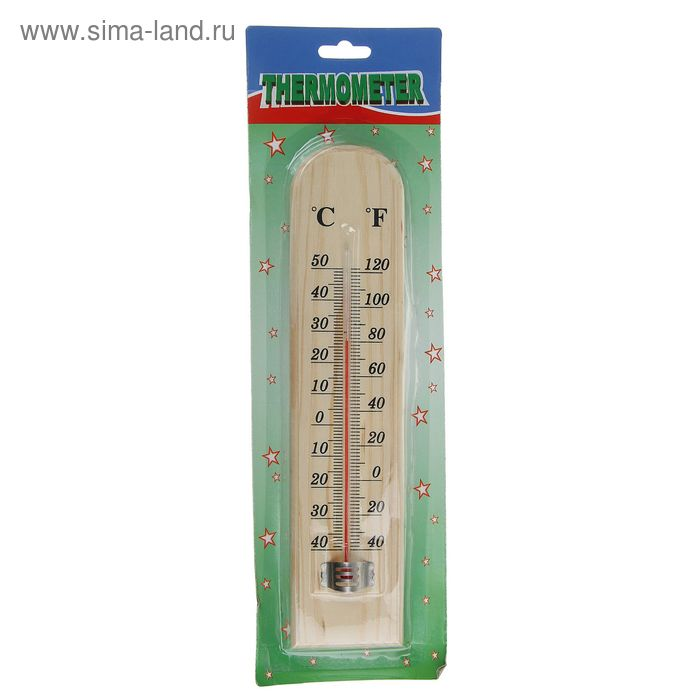 Термометр спиртовой уличный 26,5*6 см