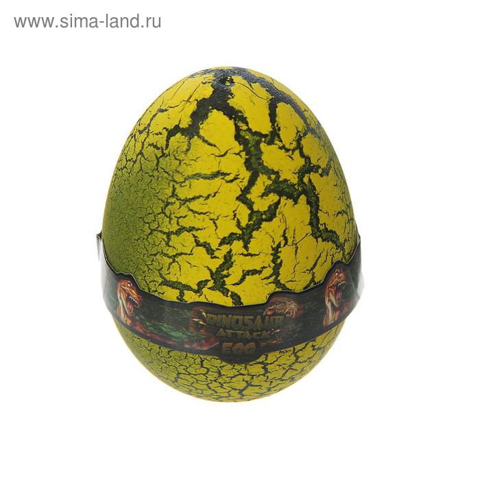 """Лизун """"Яйцо с динозавром"""", твёрдый, цвета МИКС"""