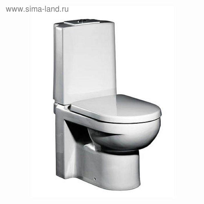 Унитаз напольный Gustavsberg Artic GB114310301231, сиденье с крышкой