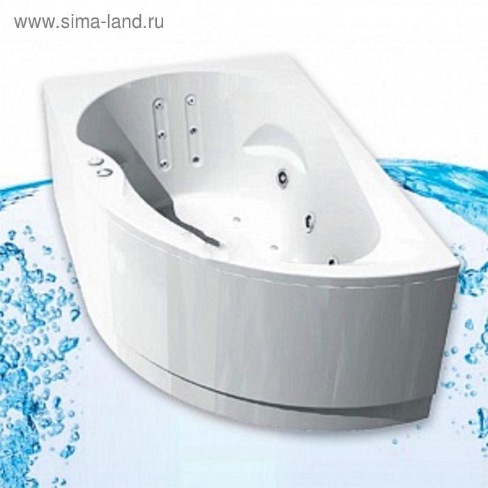 Ванна акриловая АКВАТЕК Вирго  150х100, правая с фронтальным экраном