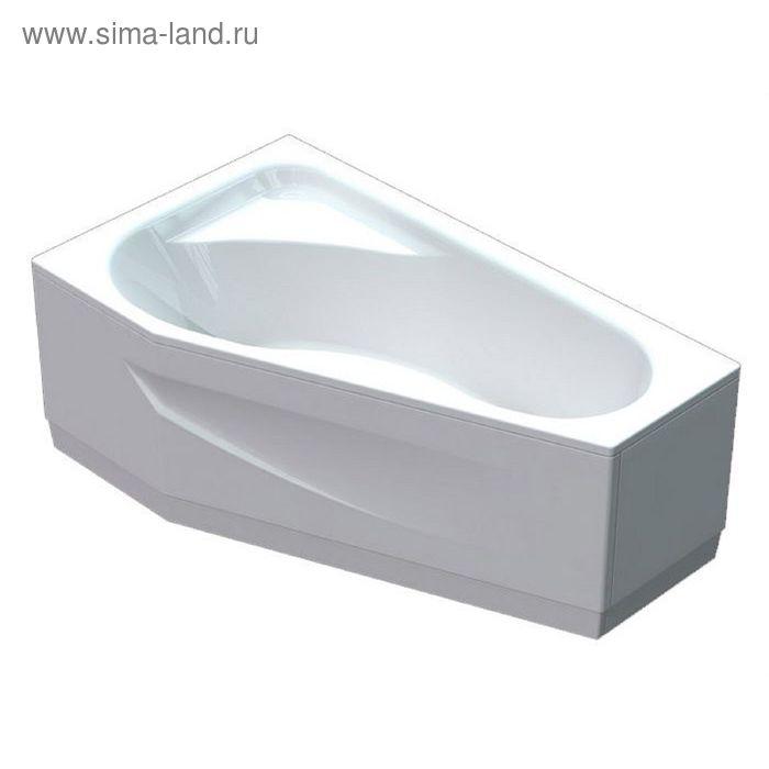 Ванна акриловая АКВАТЕК Медея 170х95 левая, с фронтальным экраном