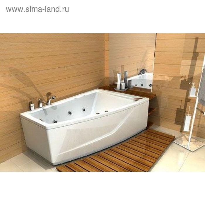Ванна акриловая АКВАТЕК Оракул 180х125 правая, с фронтальным экраном