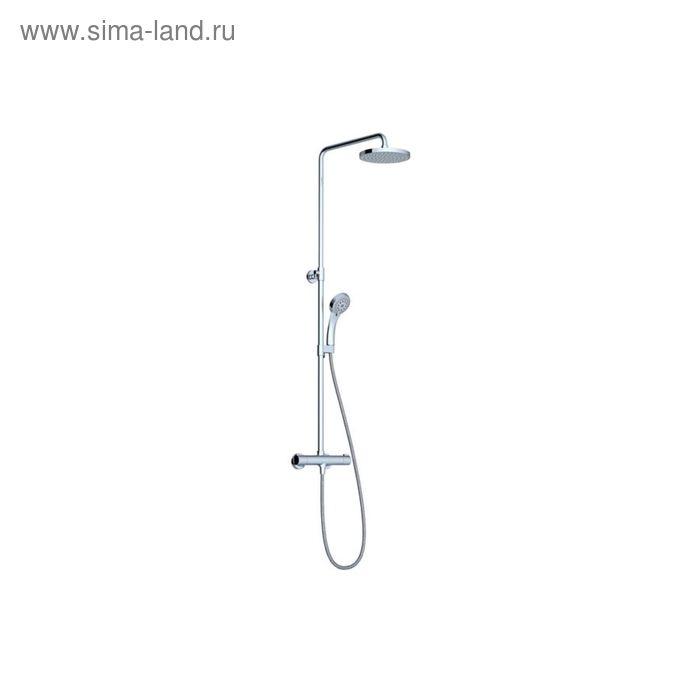 Душевая система Ravak TE 091.00/150 X070058, с термостатическим смесителем и ручным душем