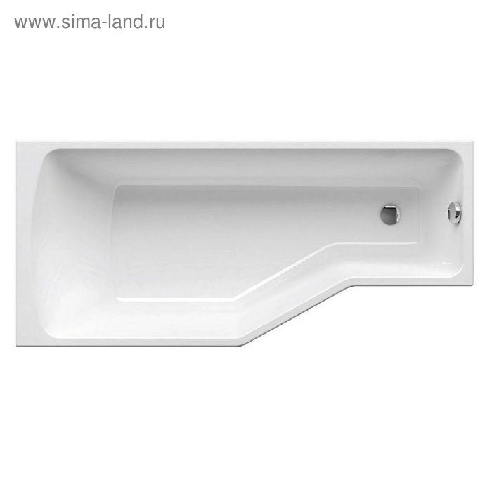 Ванна Ravak Be Happy 170x75 P C171000000, правая, белая