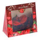 """Ароматические цветы в подарочной коробке """"С любовью"""""""