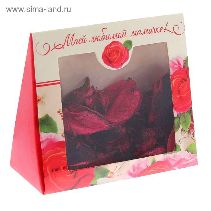 """Подарочный набор """"Моей любимой мамочке!"""": сухоцветы и ароматическая эссенция"""