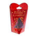 """Ароматические цветы в подарочной коробке """"Любви и счастья"""""""