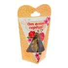 """Ароматические цветы в подарочной коробке """"От всего сердца"""""""