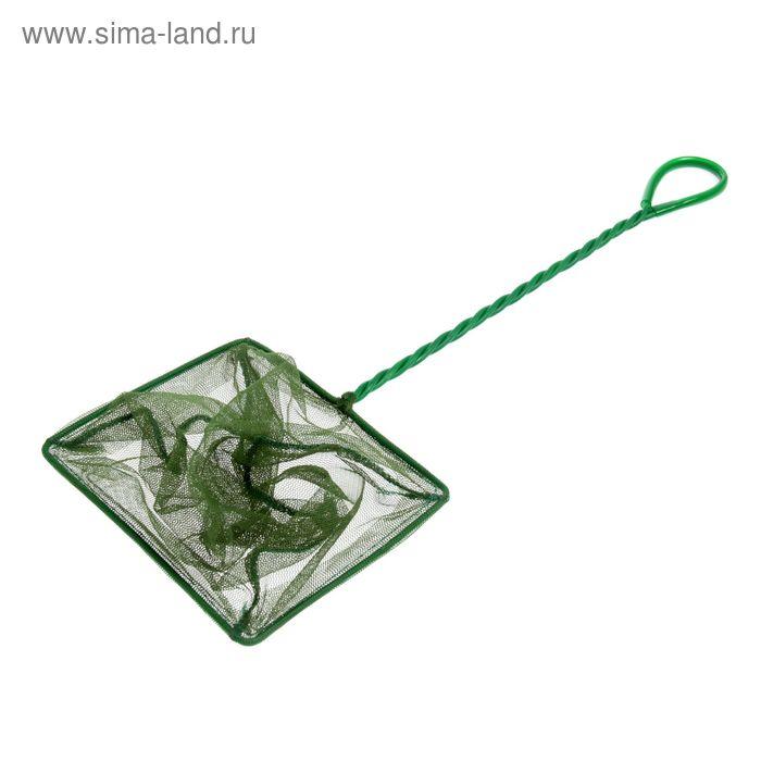 Сачок для рыб ALEAS, 15 см, зеленый