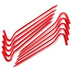 Комплект колышков шестигранных v2, Красный металлик