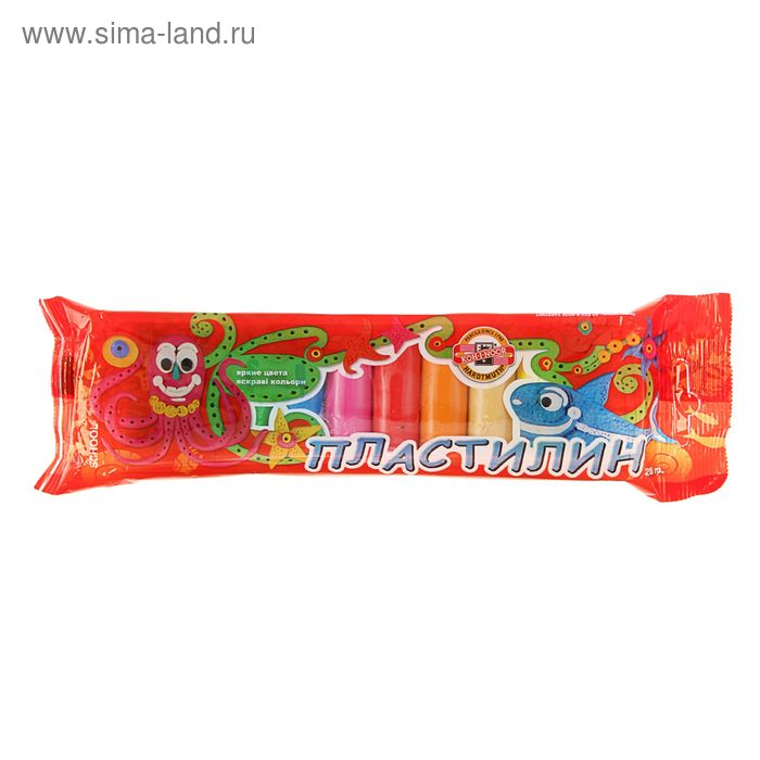 Пластилиня 10цв Koh-I-Noor Детский картон 01315S1001PSRU
