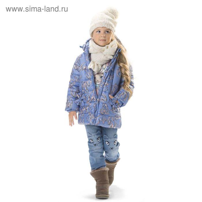 Шарф для девочек, цвет кремовый GBS3003/2