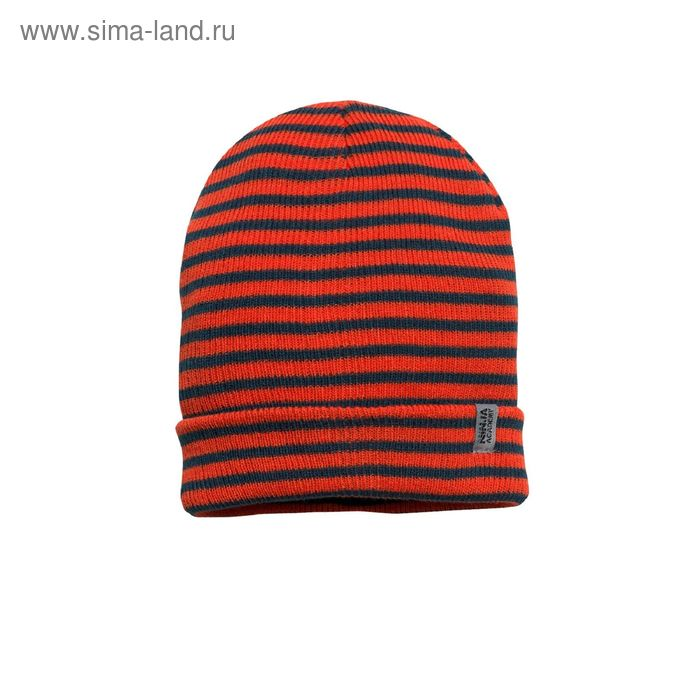 Шапка для мальчиков, размер 50-51, цвет оранжевый  BQ373