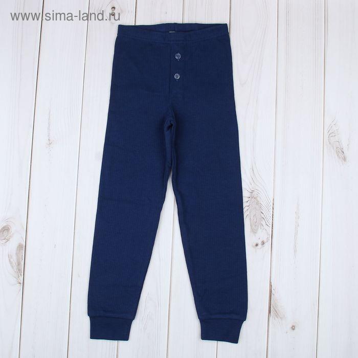Кальсоны для мальчика, рост 110 см, цвет синий (арт. 729-AZ_Д)