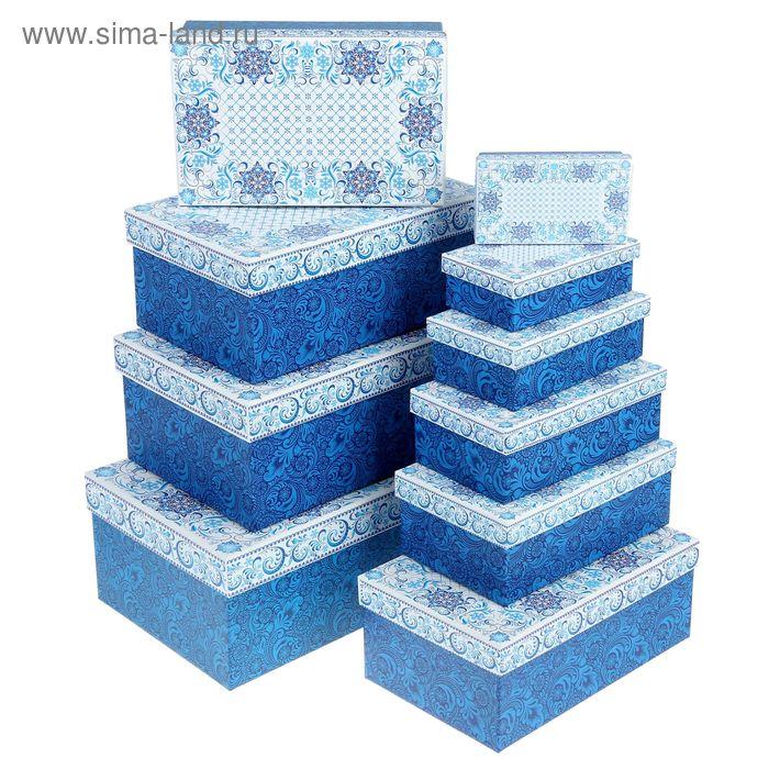 """Набор коробок 10 в1 """"Морозный Новый Год"""""""