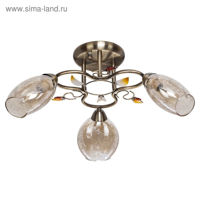 "Люстра модерн ""Ребекка"" 3 лампы (220V 40W E14)"