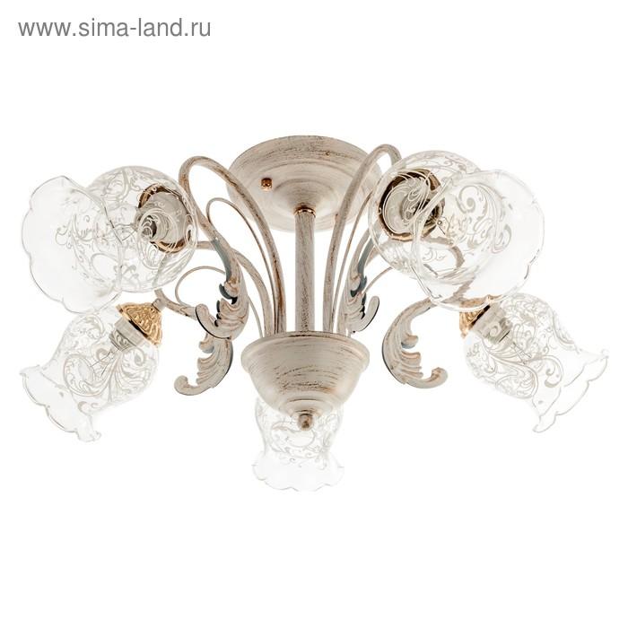 """Люстра классика """"Джина"""" 5 ламп (220V 40W E14)"""