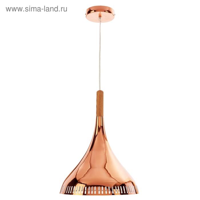 """Светильник потолочный """"Инара золотая"""" 1 лампа"""