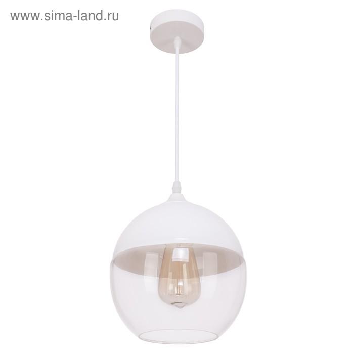 """Светильник потолочный """"Орвието"""" 1 лампа, белый"""