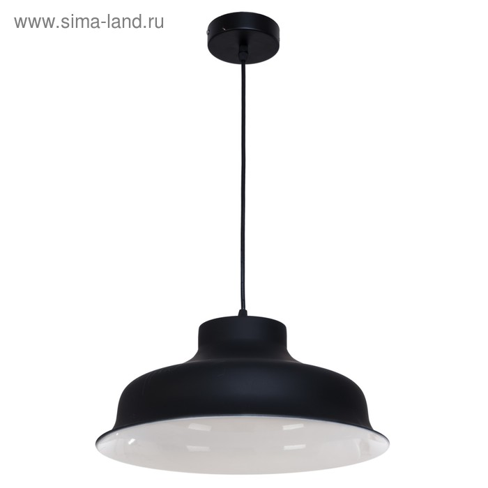 """Светильник потолочный """"Верия"""" 1 лампа, чёрный"""