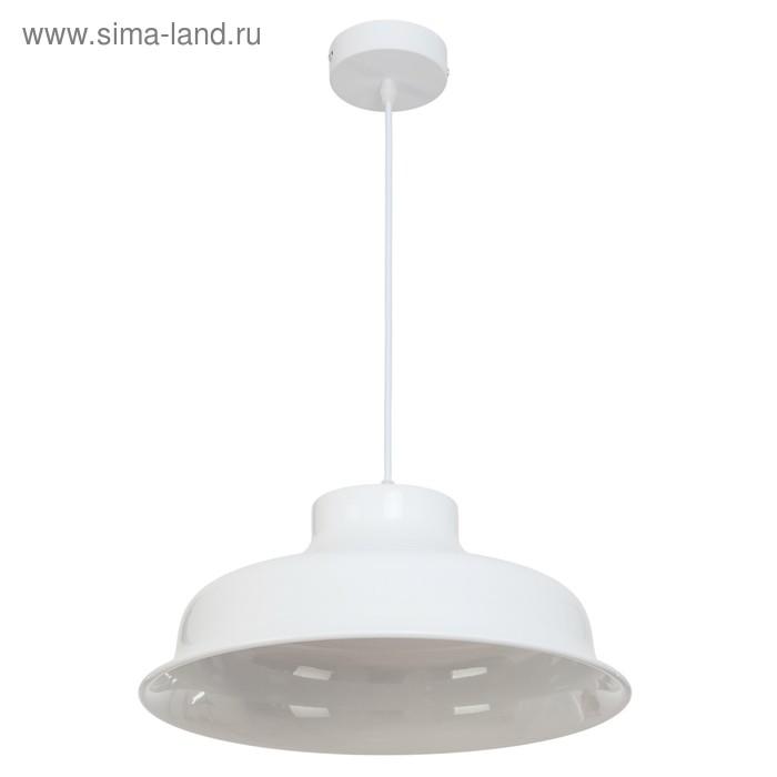 """Светильник потолочный """"Верия"""" 1 лампа, белый"""