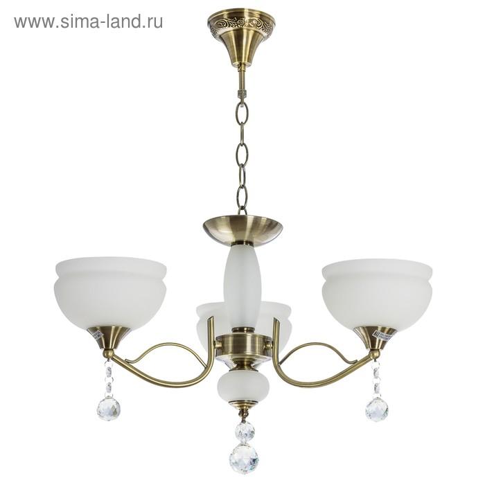 """Люстра """"Магдалина"""" 3 лампы (220V 60W E27)"""