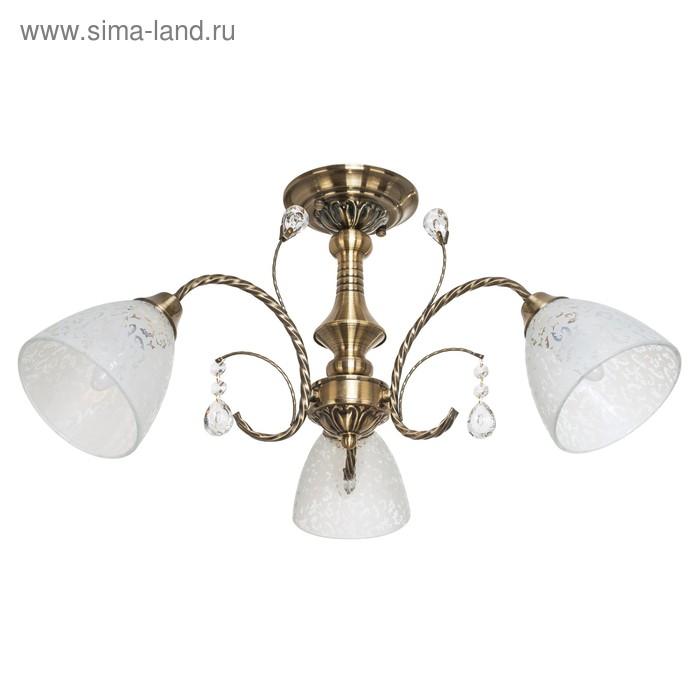 "Люстра классика ""Ярославна"" 3 лампы (220V 60W E27)"