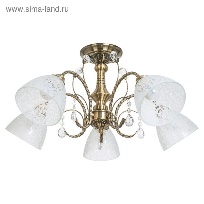 """Люстра классика """"Ярославна"""" 5 ламп (220V 60W E27)"""