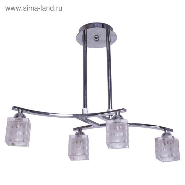 """Люстра галоген """"Олимпиада"""" 4 лампы (220V 40W G9)"""