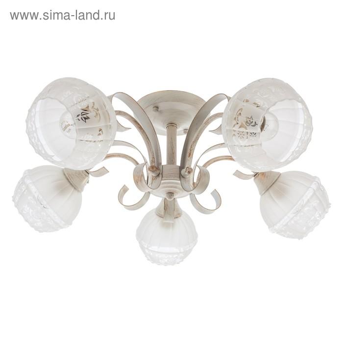 """Люстра классика """"Зарина"""" 5 ламп (220V 60W E27)"""